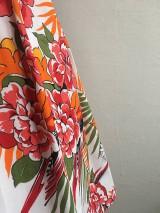 Sukne - sukňa Pestrofarebné exotic kvety - 10199655_