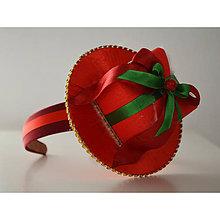 Ozdoby do vlasov - Vianočná čelenka - 10202626_