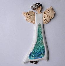 Dekorácie - Anjel - dekorácia na stenu - 10202364_