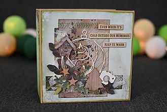 Papiernictvo - Minialbum Vianočný - 10199261_