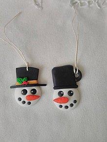 Dekorácie - vianočné ozdoby, magnetky, visačky - 10201233_