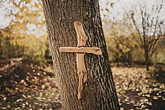 - Drevený kríž nepravidelný - 10200096_