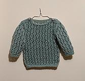 Pletený detský pulóver