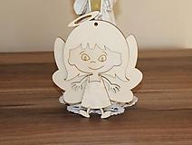 Polotovary - anjelik dievčatko - 10200102_