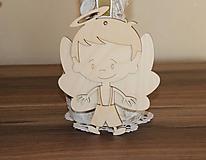 Polotovary - anjelik chlapec - 10200113_