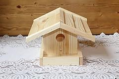 Polotovary - vtáčia búdka - 10202641_