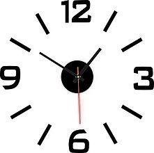 Hodiny - Nástenné hodiny nalepovacie PLEXISKLO XS SANDERO  X0089 (Oranžová) - 10201291_