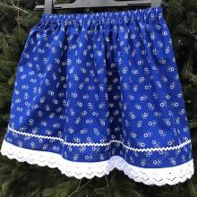 Detské oblečenie - Folklórna suknička - 10201891_