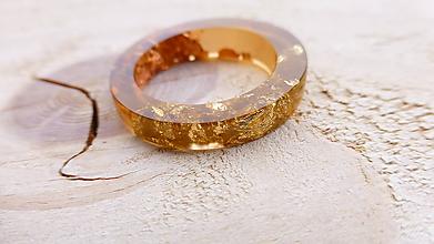 Prstene - Živicový prsteň - 10200707_