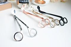 Pomôcky/Nástroje - Nožničky na knôt - čierne - 10203305_
