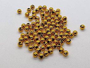 Korálky - Korálka plastová 6mm - 10200662_