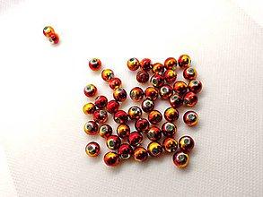 Korálky - Korálka plastová 8 mm - 10200774_