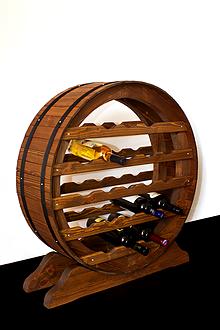 Dekorácie - Vinotéka, Stojan na víno - 10201520_