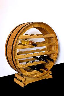 Dekorácie - Vinotéka, Stojan na víno - 10201583_