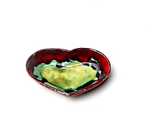miska v tvare srdca