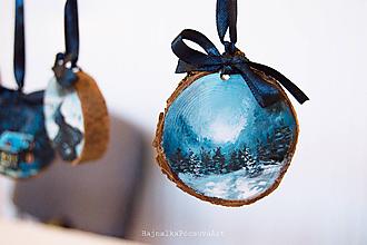 Dekorácie - Drevené dekorácie - 10202079_