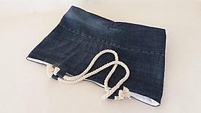 Veľké tašky - riflova plazova taska - 10202048_