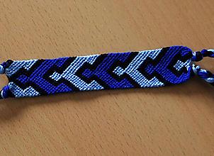 Náramky - Koberec - pletený náramok priateľstva - 10202211_