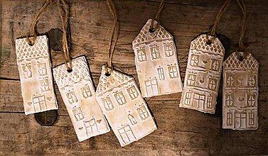 Dekorácie - Vianočné domčeky - 10207101_