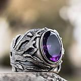 Prstene - Stromy strážcovia  (Prsteň s AMETYSTOM) - 10206352_