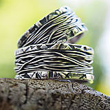 Prstene - Prepletené cesty osudu /nespútané - divoké/ - 10207516_