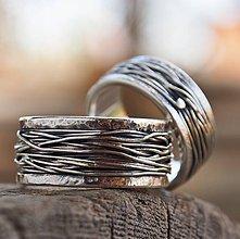 Prstene - Prepletené cesty osudu /celostrieborné varianty/ - 10207304_