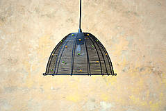 Svietidlá a sviečky - Podzimní. Drátovaný lustr. - 10206774_