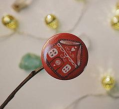 Odznaky/Brošne - Bumpkinovej Butón/ Perníkový domček - 10206428_