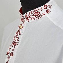 Oblečenie - Košeľa červena klasik - 10207063_