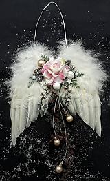 Dekorácie - Anjelské krídla - 10205124_