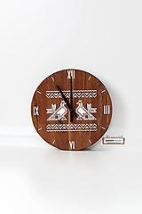Dubové hodiny - Čičmiansky kohút