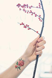 Nezaradené - Dočasné tetovačky - Kvetinové (35) - 10205016_
