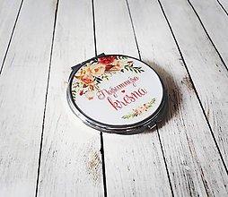 Darčeky pre svadobčanov - Zrkadielko - 10206791_