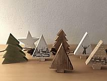 Dekorácie - Vianočný les - 10204595_