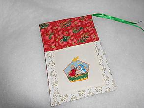 Úžitkový textil - vrecúška na Mikulášske,alebo vianočné balíčky - 10207320_