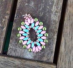 Iné šperky - Šitý prívesok 1 - 10208115_