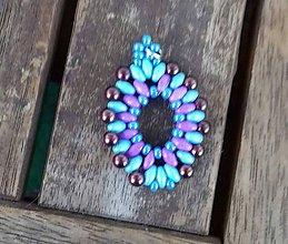 Iné šperky - Šitý prívesok 3 - 10208405_