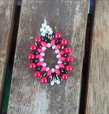 Iné šperky - Šitý prívesok 4 - 10208436_