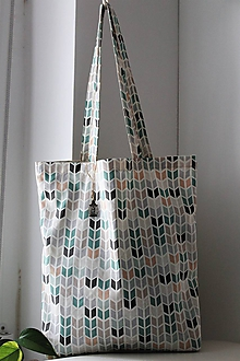 Nákupné tašky - Bavlnená nákupná taška - 10207676_