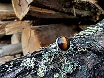 Prstene - Prsteň tigie oko - 10205792_