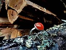 Prstene - Prsteň achát - 10205812_