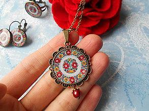 Sady šperkov - Maľovaný folklór X. - 10206205_