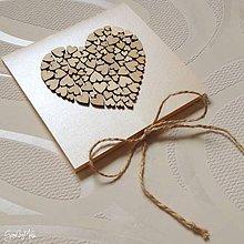 Papiernictvo - Srdiečkový obal na CD/DVD - 10206852_