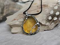 - Zimné slnko (žltý fluorit) - ZĽAVA z 14,50 € - 10208097_