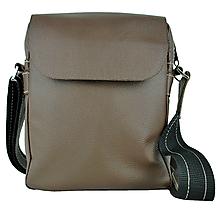 Tašky - Elegantná kožená etuja z hovädzej kože, hnedá farba - 10204901_