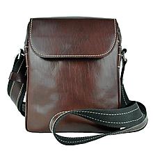 Tašky - Luxusná kožená etuja z hovädzej kože, hnedá farba - 10205106_