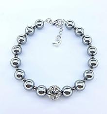 Náramky - Bracelet silver - 10203922_
