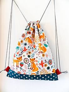 Detské tašky - Batoh líščie údolie 6-12r. - 10204064_