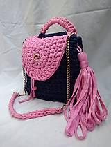 Batohy - Batoh crossbody blue pink - 10208391_