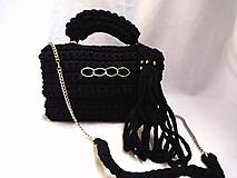 Kabelky - BLACK GOLD LUXURY BAG - 10208409_